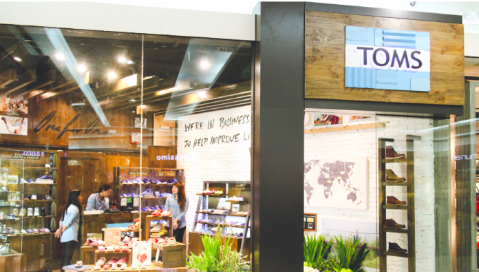Toms Being Taken Over By Creditors